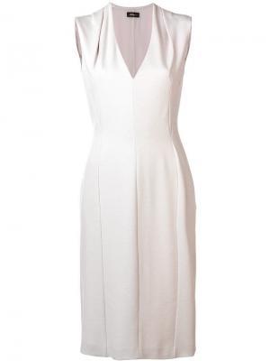 Платье без рукавов Les Copains. Цвет: нейтральные цвета