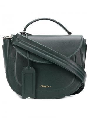 Hudson saddle bag 3.1 Phillip Lim. Цвет: синий