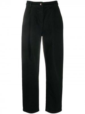 Зауженные джинсы с завышенной талией Magda Butrym. Цвет: черный