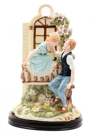 Статуэтка на подставке ROYAL CLASSICS. Цвет: голубой