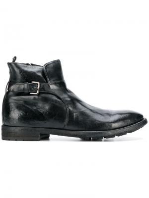 Ботинки-дерби Princeton Officine Creative. Цвет: черный