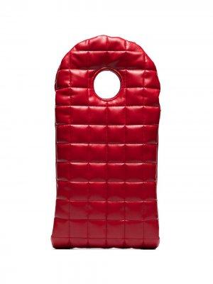 Стеганый клатч Bo A.W.A.K.E. Mode. Цвет: красный