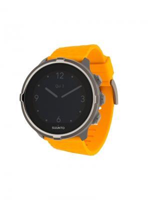 Часы с цветным ремешком Spartan Trainer Suunto. Цвет: желтый