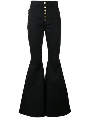 Расклешенные джинсы Ellery. Цвет: черный