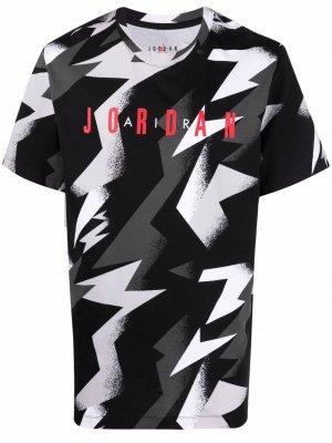 Футболка Jumpman Air Jordan. Цвет: черный