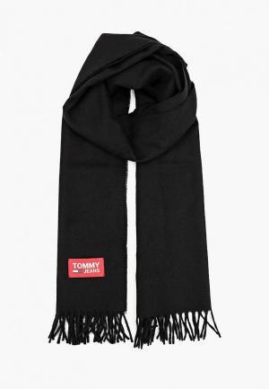 Шарф Tommy Jeans. Цвет: черный