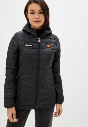 Куртка утепленная Ellesse. Цвет: черный