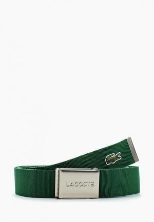 Ремень Lacoste. Цвет: зеленый