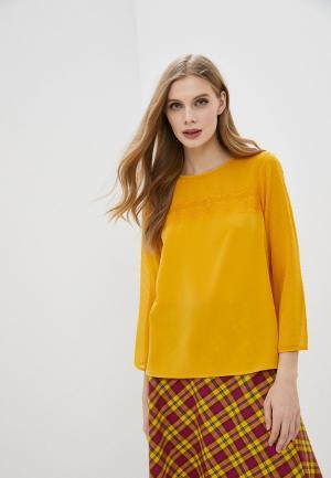 Блуза Tom Tailor Denim. Цвет: желтый