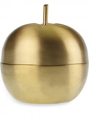 Подарочная чаша в виде яблока BITOSSI CERAMICHE. Цвет: золотистый