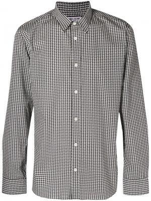 Printed poplin shirt Paul & Joe. Цвет: коричневый