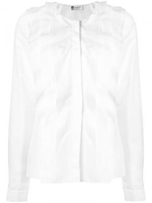 Блузка с оборкой Lanvin. Цвет: белый