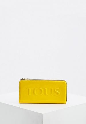 Кошелек Tous. Цвет: желтый