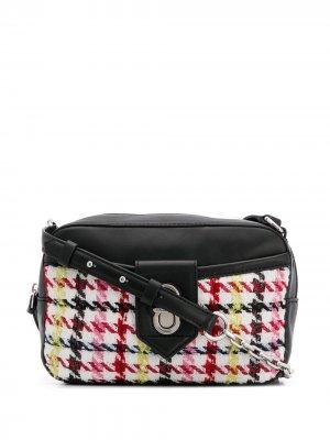 Каркасная сумка K/Studio Karl Lagerfeld. Цвет: белый
