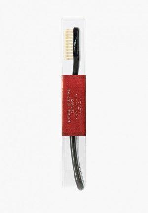 Зубная щетка Acca Kappa. Цвет: черный