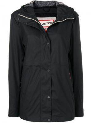 Непромокаемая куртка с капюшоном Hunter. Цвет: черный