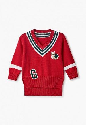 Пуловер Gulliver. Цвет: красный