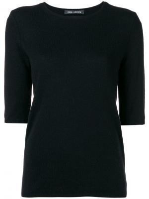 Fine knit top Iris Von Arnim. Цвет: черный
