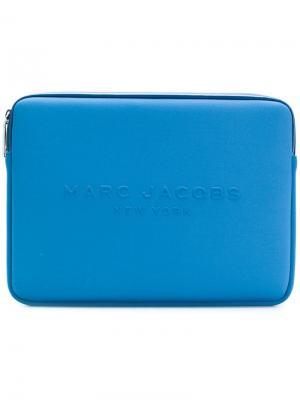 Чехол для планшета с логотипом Marc Jacobs. Цвет: синий