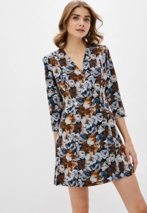 Платье Befree. Цвет: разноцветный