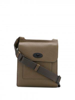 Маленькая сумка на плечо Antony N Mulberry. Цвет: зеленый