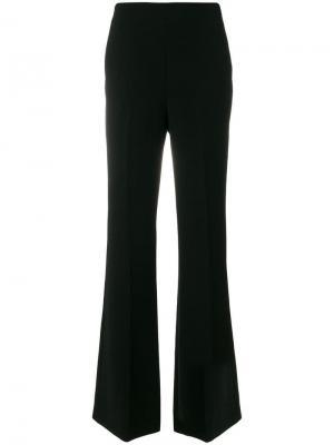 Длинные брюки клеш Bottega Veneta. Цвет: черный