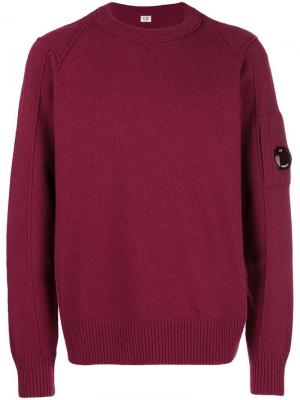 Crew neck sweater CP Company. Цвет: красный