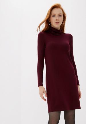 Платье Vero Moda. Цвет: бордовый