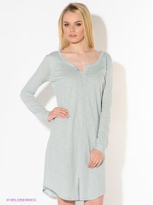 Платье American Outfitters. Цвет: серо-голубой