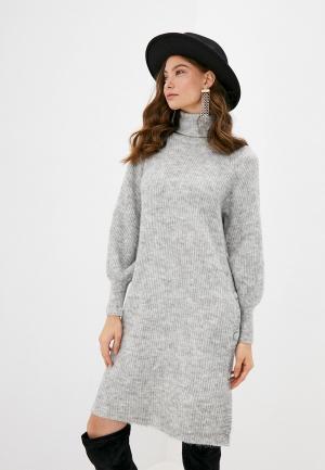 Платье Y.A.S. Цвет: серый