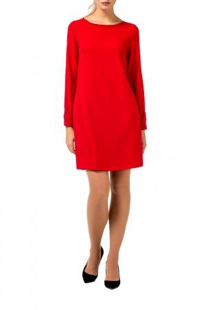 Платье Remix. Цвет: красный