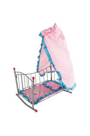 Кровать-качалка с балдахином MARY POPPINS. Цвет: розовый