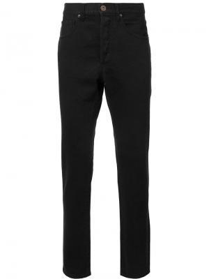 Зауженные джинсы 321. Цвет: черный