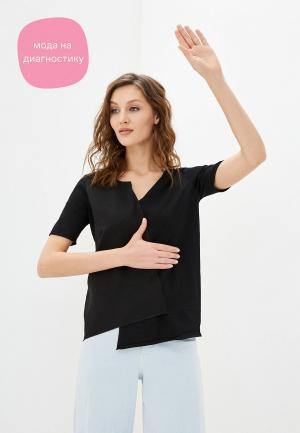 Блуза Stefanel. Цвет: черный