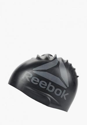 Шапочка для плавания Reebok. Цвет: черный