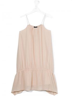 Платье на тонких лямках Little Remix. Цвет: нейтральные цвета
