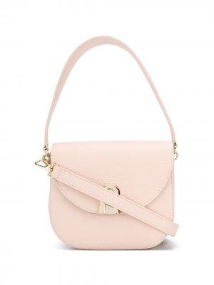 Мини-сумка через плечо Sleek Furla. Цвет: нейтральные цвета