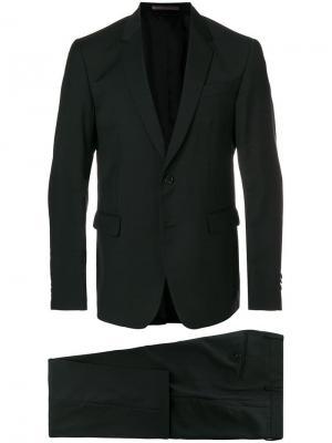 Деловой костюм-двойка Mauro Grifoni. Цвет: черный