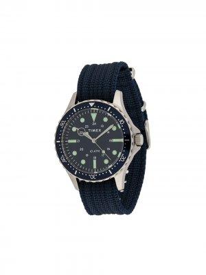 Наручные часы Navi XL 41 мм TIMEX. Цвет: синий