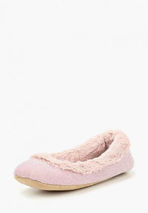 Тапочки Dorothy Perkins. Цвет: розовый