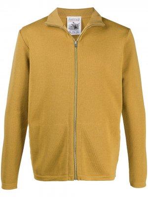 Кардиган на молнии S.N.S. Herning. Цвет: желтый