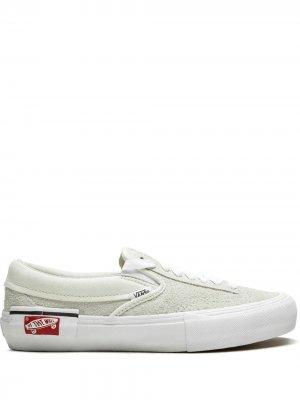 Слипоны Cap LX Dr Vans. Цвет: белый
