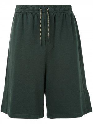 Спортивные шорты Qasimi. Цвет: зеленый