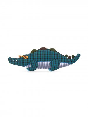 Сумка в виде крокодила Familiar. Цвет: синий