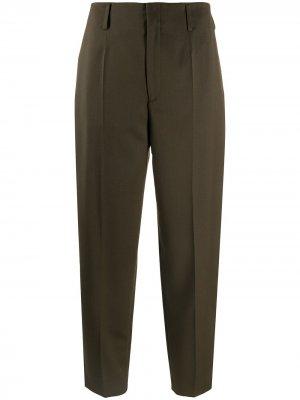 Укороченные брюки Karlie прямого кроя Filippa K. Цвет: зеленый