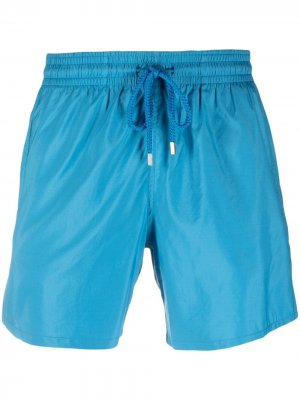 Плавки-шорты с нашивкой-логотипом Vilebrequin. Цвет: синий