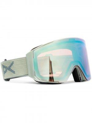 Горнолыжные очки M2 Anon. Цвет: зеленый