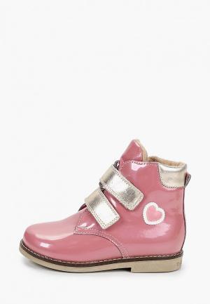 Ботинки Marko. Цвет: розовый