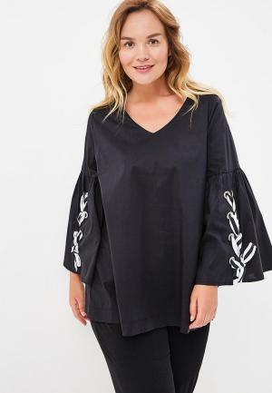 Блуза Sophia. Цвет: черный
