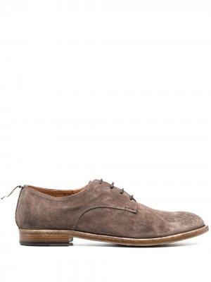 Туфли дерби на шнуровке Silvano Sassetti. Цвет: нейтральные цвета
